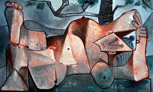 "Majas, homenajes de Francisco de Goya y Lucientes (1802), Eugéne Delacroix (1826), Amadeo Modigliani (1916), Pablo Picasso (1906), (1931), (1959), (1964). • <a style=""font-size:0.8em;"" href=""http://www.flickr.com/photos/30735181@N00/8747968926/"" target=""_blank"">View on Flickr</a>"
