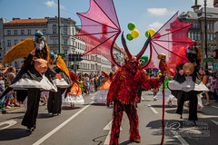 The Devil and his Moneymakers (Timor Kodal) Tags: carnival music berlin kreuzberg samba kunst tnzer dancer tanz bateria musik der cultures umzug karneval neuklln kulturen sdstern 2013 strasenfest hermmanplatz