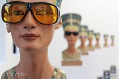 A bust of Nefertiti (elcoprouk) Tags: sculpture art field bokeh indoor depth isa nefertiti genzken