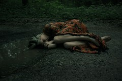 A Long Weep (CSKalinsky) Tags: portrait conceptual concept creative color girl cry mood darkart