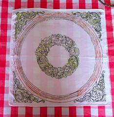 Toalha de Mesa; pintada por Renata GAM*. (Atelier Renata GAM) Tags: toalhas de mesas pintada