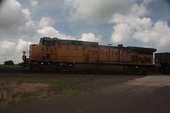 54045 (richiekennedy56) Tags: ac44cw unionpacific up6547 kansas shawneecountyks menoken topeka railphotos unitedstates usa