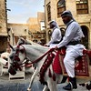 سوق واقف (Hossam el-Hamalawy حسام الحملاوي) Tags: instagramapp square squareformat iphoneography uploaded:by=instagram qatar doha الدوحة قطر