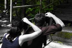 IMG_0775_1 (pavel.milkin) Tags: thailand phangngan tonprai forest jungle leaves tree man woman sincity blackmask blackwhite gogreen green travel canon canon550d 550d helios helioslens helios442 442 old colour endlesssummer bokeh bokehlicious