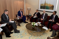 Secretary Kerry Meets With U.S. Ambassador to Yemen and UN Special Envoy for Yemen (U.S. Department of State) Tags: johnkerry jeddah saudiarabia ismail ould cheikh ahmed