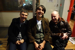 Neil, Joe and Bruce (Three Triple R) Tags: broadcastermeeting2016 radiothon2016 ajewelinthejunkheap rrr rrr1027fm