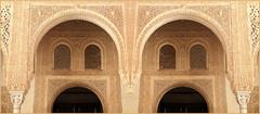 Palais Nasrides, Alhambra de Grenade, Granada, Andalucia, Espana (claude lina) Tags: claudelina espana spain espagne andalucia andalousie ville town city granada grenade architecture alhambra palaisnasrides