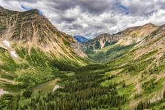 View from the Crypt Lake Trail (ScotiaViolet) Tags: watertonlakes watertonlakesnationalpark cryptlake hiking mountains nationalpark alberta sonya6300 sonyilce6300 e1018mmf4