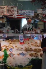 Seattle - Pike Place Market - Fresh Seafood (jrozwado) Tags: northamerica usa washington seattle pikeplace market shopping seafood fish shelfish crab dungeness