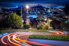 RUNNIN THRU THE SCO (Cre8 Thru Action) Tags: sanfrancisco sf california night a6000 sonyalpha sonya6000 view urban light slow exposure