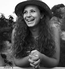 Claudia (bellantoni_m) Tags: portrait portraits retrato retratos ritratto ritratti biancoenero blancoynegro blackandwhite smile smiling sonrisa sorriso girl