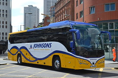 Johnsons YX16NYD (Will Swain) Tags: birmingham 22nd july 2016 bus buses transport travel uk britain vehicle vehicles county country england english west midland midlands city centre johnsons yx16nyd henley arden