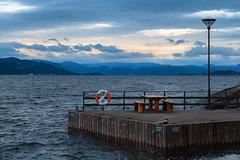 In the fjords of Norway. (Matthias Dengler || www.snapshopped.com) Tags: matthias dengler snapshopped norway nature fjord stavanger flor og fjaere tropical island landscape sunset sunrise rain lysefjord travel adventure