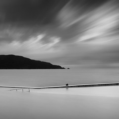 Breakwater (Ger208k) Tags: ireland donegal portnablagh pier wall seascape longexposure le leebigstopper nd clouds minimal blackandwhite gerardmcgrath square