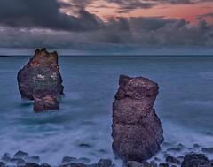 rock family (nelsonjose) Tags: longexposure lee landscape rocks reykjanesviti dream details sunrise iceland islandia seascapes