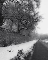 Stamford-in-the-Snow (Ray Devlin) Tags: stamford lincolnshire england nikon d300 winter snow black white blackandwhite