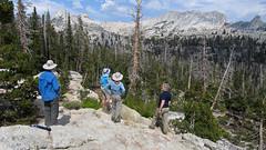 Echo Peaks and Matthes Crest (Mike Dole) Tags: johnmuirtrail yosemitenationalpark california sierranevada
