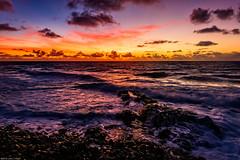 Dawn on Kauai (jthight) Tags: usa landscape kealialookout pacificocean water landform hawaii september rocks nikond810 morning lavarock beach ocean kauai afzoom2470mmf28g clouds dawn island sky seascape waves coast on1pics sunrise kapaa unitedstates us