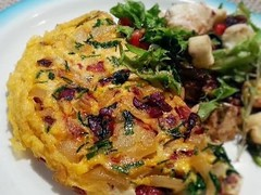 Red pepper chorizo tortilla recipe (ZapMovies) Tags: food recipes tortilla chorizo pepper
