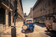Available... (Gilderic Photography) Tags: lisbonne lisbon lisboa portugal tuktuk tourisme ride car street rue city ville canon 500d gilderic