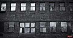 Windows (MBates Foto) Tags: architecture buildings oldbuildings streetscenes blackandwhite monochrome minimalist spokane washington inlandwashington easternwashington nikon nikond810 nikkor50mmf18lens nikonfxcamera windows outdoor unitedstates 99201