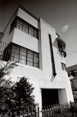 Exa 1C Richardson Apartments 1 () Tags: vintage retro classic losangeles la california history 35mm film camera exa exakta dresden veb pentacon eastgermany ddr gdr
