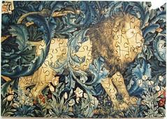 The Lion (Leonisha) Tags: puzzle jigsawpuzzle lion lwe wooden holzpuzzle