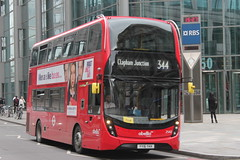 Abellio London - YY16 YKK (BigbusDutz) Tags: abellio london alexander dennis enviro 400mmc yy16 ykk