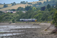 No more Veg (Teignstu) Tags: teignmouth devon railway riverteign river 2e75 class57 57602 gwr