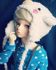 Photogenic you sure are. (pokori) Tags: mnf bjd msd ns fairyland minifee rheia boy