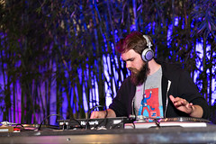 Jonathan Snipes of clipping. DJs the after-party at Flux Screening at the Hammer October 12, 2016 (helloflux) Tags: billywildertheater film flux hammermuseum losangeles short musicvideo screeningseries westwood california jonathansnipes clipping