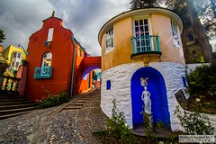 Portmeirion2016.09.16-185 (Robert Mann MA Photography) Tags: portmeirion gwynedd northwales snowdoniamountainsandcoast villages village tourism touristattractions attractions penrhyndeudraeth 2016 autumn friday 16thseptember2016 theprisoner thevillage architecture building buildings seaside