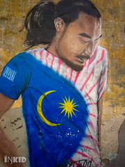 DSC_1455 (inkid) Tags: georgetown penang malaysia sony xperia z5 premium dual street photograph wall painting
