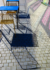 BRYAN_20160922_IMG_9057 (stephenbryan825) Tags: liverpool museumofliverpool cafe chairs reflection selects shadows table