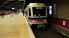 City Centre (Laurence's Pictures) Tags: edmonton alberta downtown canada buildings city centre subway light rail vehicle lrv public transit trolley tram commuter rapid urban