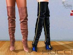 Torwood Boots at Uber September 2016 (Eboni Khan) Tags: hucci houseofhucci sl secondlife boots boot uber 2016 september slink maitreya belleza hourglass lara freya isis venus stretch leather