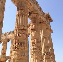The colors of the ancient (carlottabellomo) Tags: valledeitempli magnagrecia tempio blue italy photo sicily