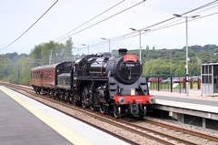 76084 @ Kirkstall Forge, Leeds (TheRosyMole) Tags: 76084 kirkstallforge kirkstall leeds yorkshire steam railway railroad