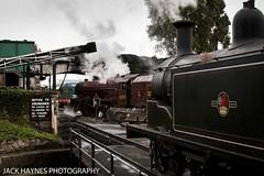 A Princess and an M7 (Jack Haynes Photography) Tags: 6201 princess elizabeth m7 30053 swanage railway dorset purbeck railways heritage