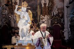 Peregrynacja Figury w. Michaa Archanioa036 (Sanktuarium w Krzeszowie) Tags: krzeszw grssau boogrobcy gargano archanio micha saint michael archangel