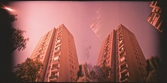 multicity (Marcin Kubiak) Tags: analog concrete lcw multiexpo xpro warsaw poland twins 35mm abstract architecture believeinfilm blocks cityscape city doubleexposure dream velvia filmphotography grain lomography lcwide lomo multiexposure outdoor surreal tower ursynow