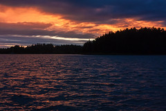 IMG_1657-1 (Andre56154) Tags: schweden sweden sverige schren archipelago wasser water ufer kste coast sonne sun himmel sky cloud wolke sunset abend dawn evening dmmerung afterglow