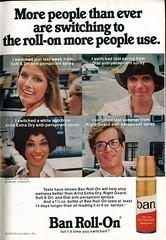 1976 Ban Roll-On Anti-Perspirant Advertisement Readers Digest March 1976 (SenseiAlan) Tags: 1976 ban rollon antiperspirant advertisement readers digest march