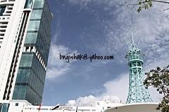 bngishak7D3154 (bngishak On & Off) Tags: bngishak canoneos7d ef24105mmf4lisusm sibu sarawak sky blue wismasanyan outdoor