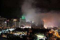 Smoke from the National Day fireworks (Alan Yeh Photography) Tags: hongkong hongkongnationalday nationalday hknationalday fireworks october12016 1012016 causewaybay victoriaharbour victoriaharbor hkvictoriabarbour victoriaharbourhk 852 kowloon icc