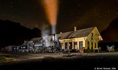 Overnighting in Silverton (kdmadore) Tags: drgw denverriograndewestern durangosilverton dsng durango silverton steamlocomotive steamengine railroad train narrowgauge