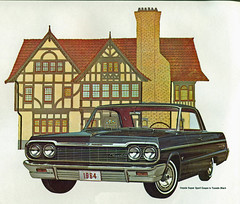 1964 Chevrolet Impala SS Sports Coupe (coconv) Tags: car cars vintage auto automobile vehicles vehicle autos photo photos photograph photographs automobiles antique picture pictures image images collectible old collectors classic ads ad advertisement postcard post card postcards advertising cards magazine flyer prestige brochure dealer 1964 chevrolet impala ss sports coupe 2 door hardtop chevy 64 black art illustration drawing painting super