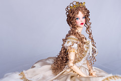 Golden Champagne (Amadiz) Tags: wig wigs amadiz amadizstudio doll dolls abjd bjd fashion hairstyle gown soom topaz