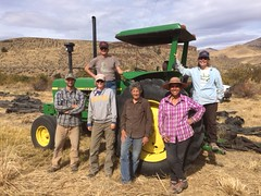 IMG_1439 (Oregon Natural Desert Association) Tags: denny jones ranch weed mat removal 2016 stewardship trips
