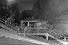 abandoned house (Summ....) Tags: img2764 bw 2016 night house dornbushstreet documentary